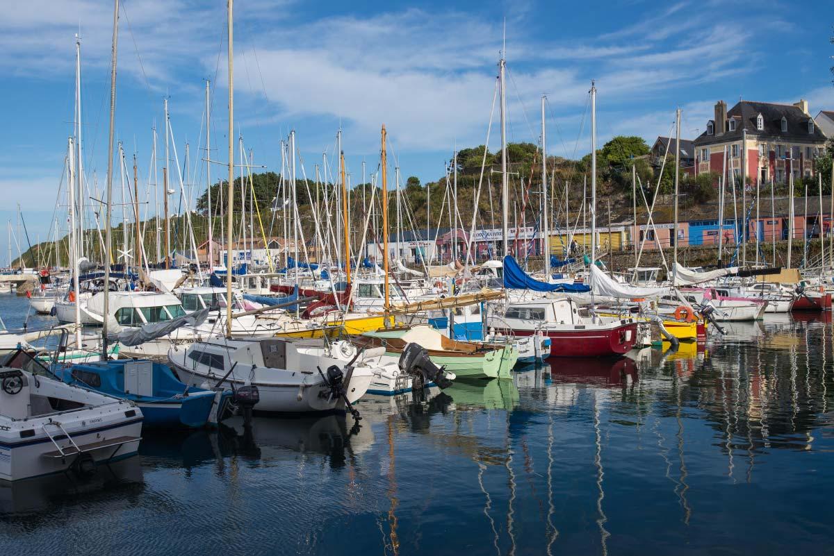 Port Tudy de l'île de Groix